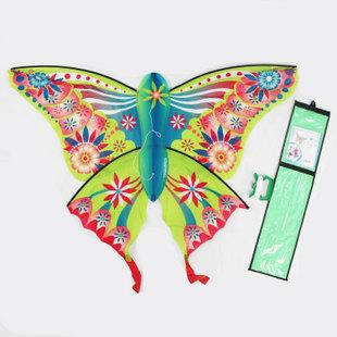 迪卡侬 玻璃纤维 单线风筝/蝴蝶风筝/微风起飞 易飞