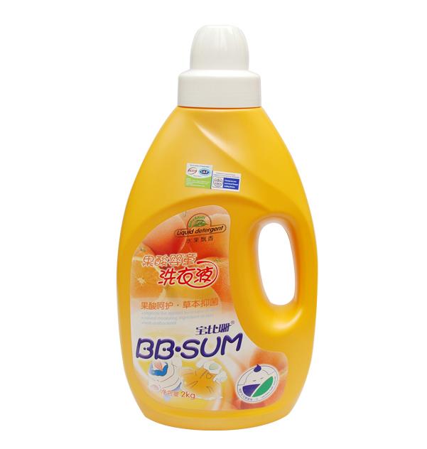 宝比珊 果酸洗衣液 香橙香型 2000ml