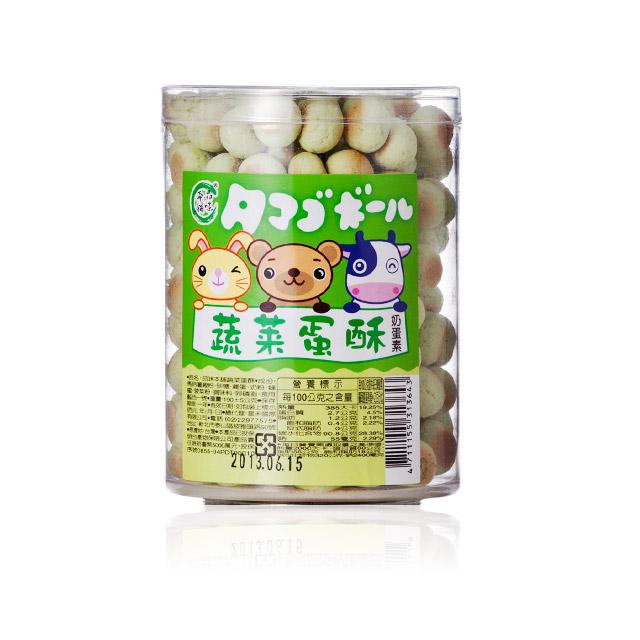 品味本铺 蔬菜蛋酥 190g ×4瓶