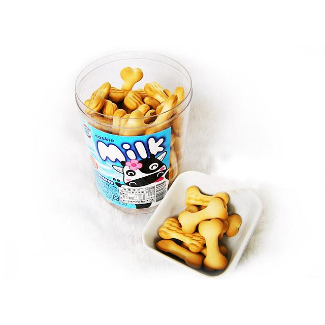 品味本铺 特浓牛奶骨头饼 180g ×4瓶