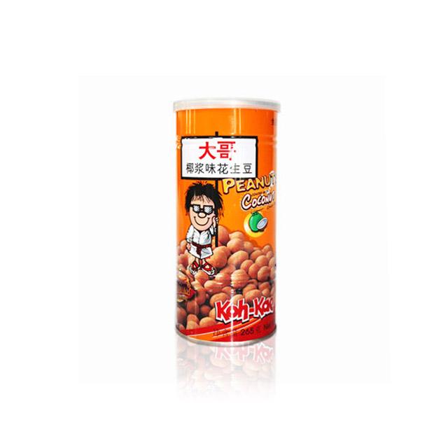 大哥 花生豆 椰浆味 265g ×3罐(泰国进口)