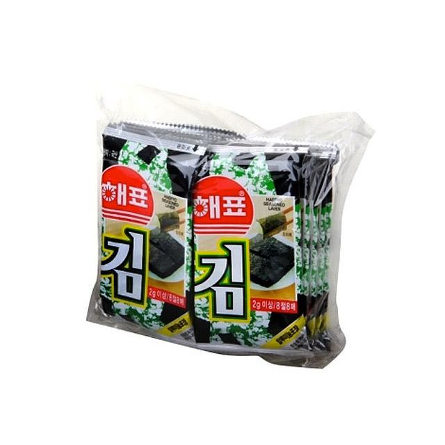 海牌 海苔(10小袋装) 20g ×8包