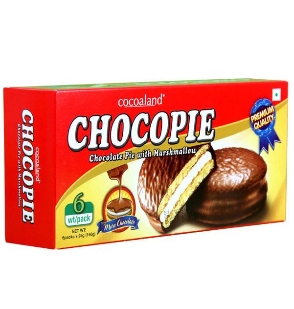 cocoaland 巧克力派 150g ×6盒