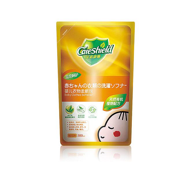 金盾康馨(Care shield) 婴儿衣物柔顺剂 500ml ×3袋
