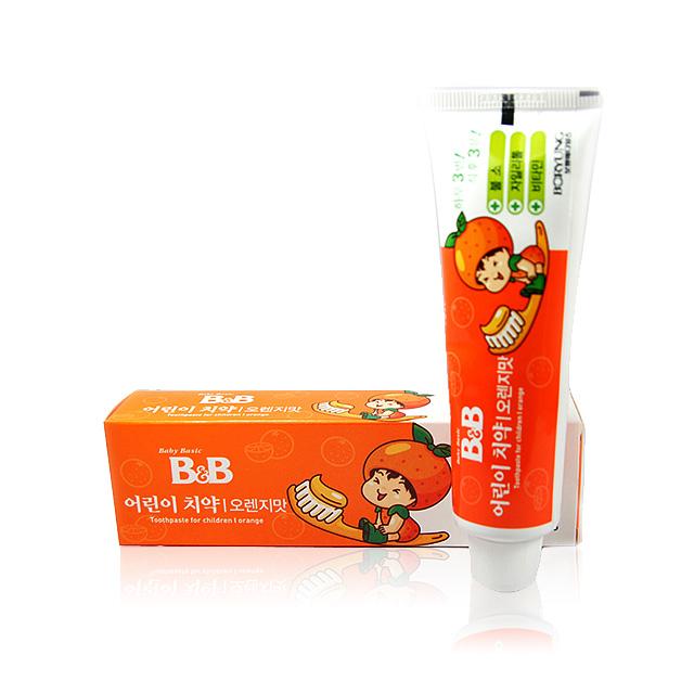 保宁 幼儿牙膏(橙子) 90g ×2盒