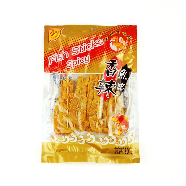 水成 香辣鱼串 80g ×10袋