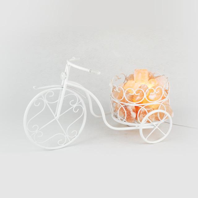 瑞鳞祥 自行车水晶盐灯
