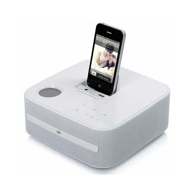 RSR    iPod/iPhone基座迷你DVD组合音响   DD510