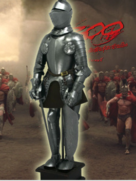 中世纪盔甲装饰品/人体盔甲/古代罗马兵人模型/a1208