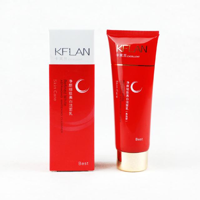 卡芙兰(KFLAN) 细致美白洁面乳 120g