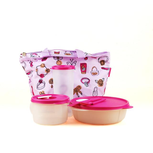 特百惠(Tupperware) 便携午餐组合3件套