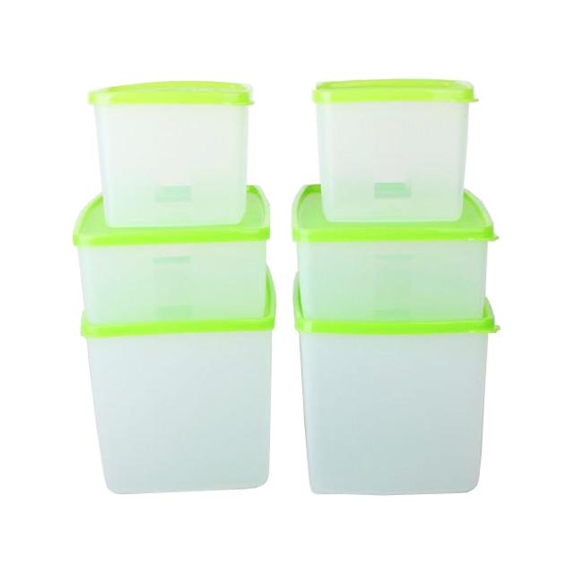 特百惠(Tupperware) 菜嫩果爽冷藏保鲜套装6件套