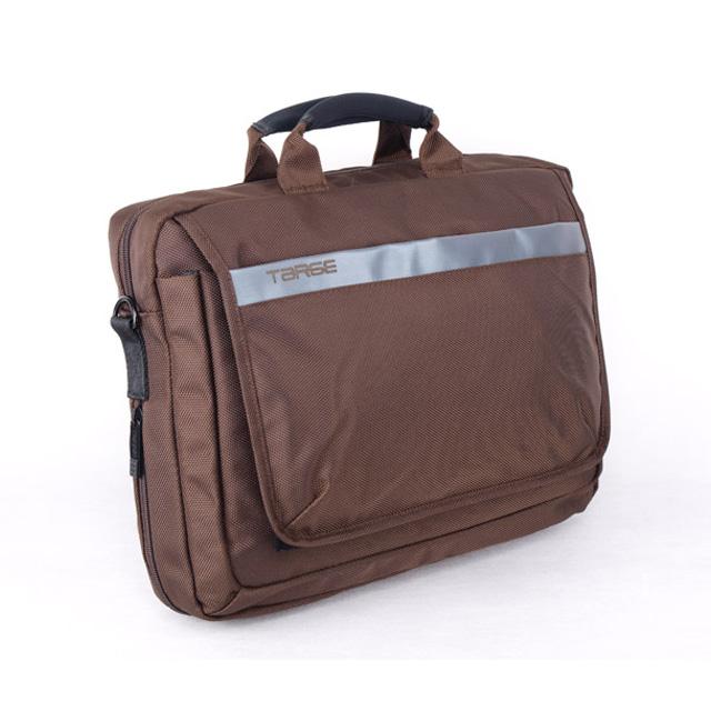 天盾(Targe) 单肩多功能电脑背包 T10A 棕色