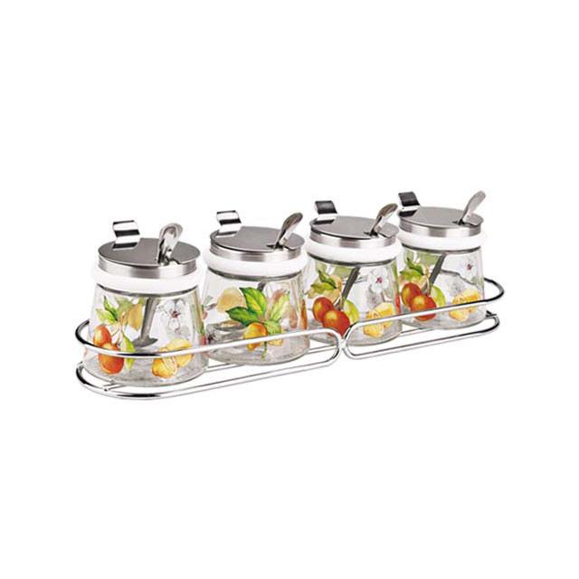 居元素(SENSE) 乐果缤纷 调料瓶组合5件套 N838584101
