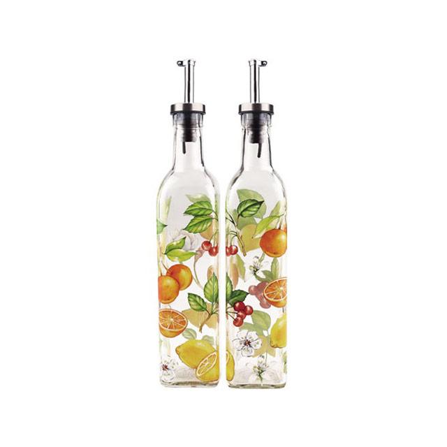 居元素(SENSE) 乐果缤纷 液体调味瓶2件套 N8041840 500ml/只