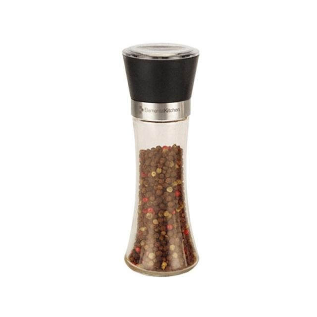 居元素(SENSE)  厨房餐桌调料研磨器(黑色) N8030002 220ml