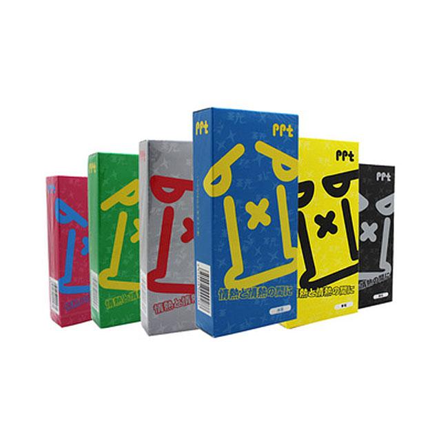 冈本(Okamoto)  PPT系列避孕套 6盒42只(冰玩7只+爱玩7只+酷玩7只+劲玩7只+纯玩7只+享玩7只)