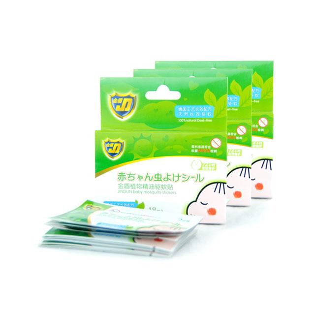金盾 植物精油驱蚊贴 18贴 ×3盒