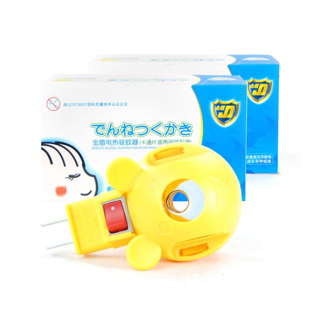 金盾 电热驱蚊器(卡通片液两用球形器) ×2盒