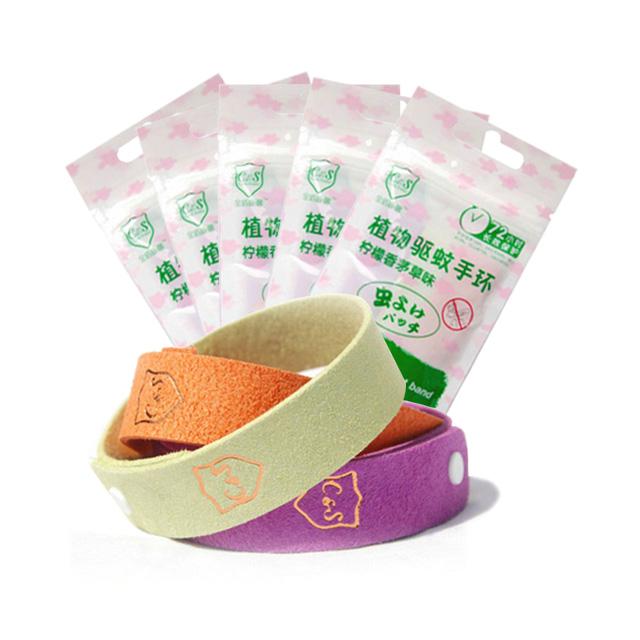 金盾康馨(Care shield) 植物驱蚊手环(柠檬香茅草味)3枚入 ×5袋