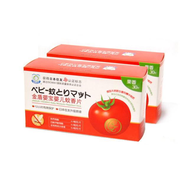 金盾婴宝 婴儿蚊香片(果香) 30片 ×2盒