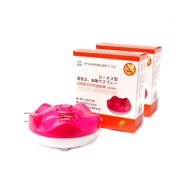 金盾婴宝 电热驱蚊器(莲花型) ×2盒