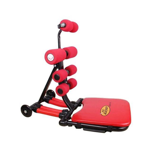 卡思特 红色复古款运动收腹机/收腹器/健腹器(送握力器)AD-07