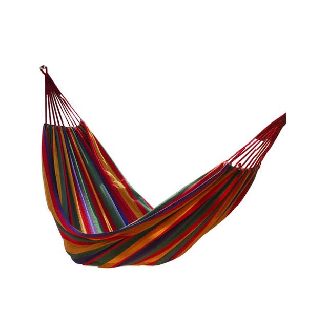 卡思特 野营吊床/户外加厚帆布吊床(可承载两人)