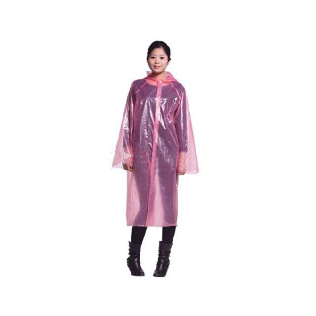 卡思特 加厚一次性雨衣/雨披(前开扣式) JA26 ×3件
