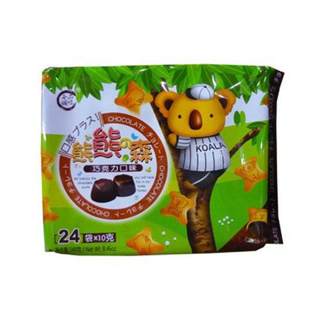 品味本铺 熊熊森巧克力灌心饼 240g ×3袋