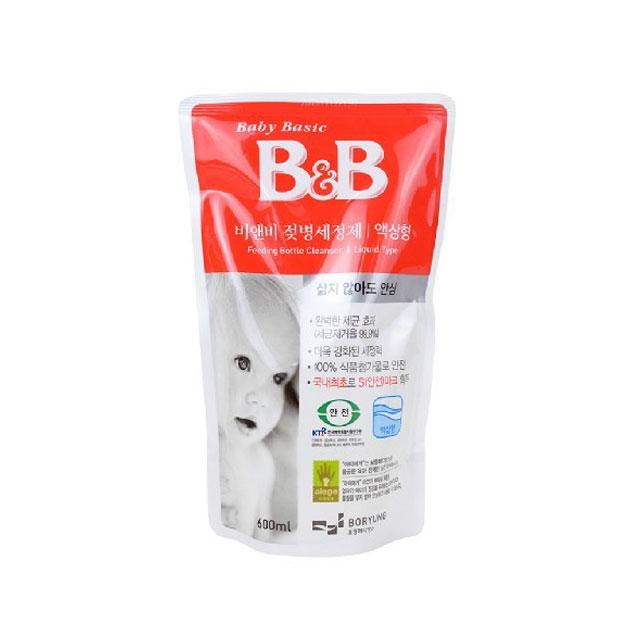 保宁(B&B) 奶瓶清洁剂(液体型补充装) 600ml