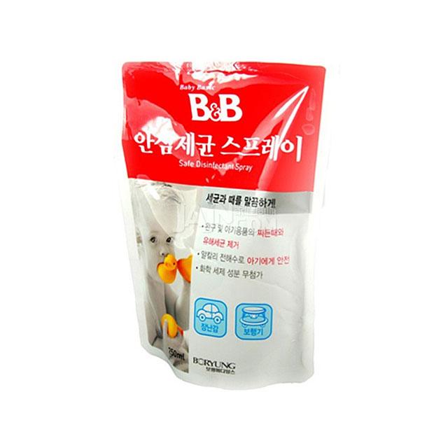 保宁(B&B) 安心治菌喷雾剂(补充装)250ml