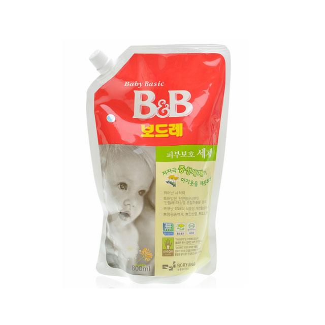 保宁(B&B) 纤维洗涤剂(香草香·盖子袋装) 800ml