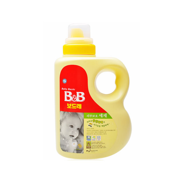 保宁(B&B) 纤维洗涤剂(香草香瓶装) 1500ml