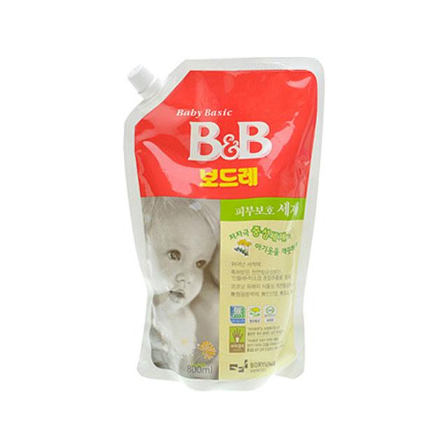 保宁(B&B) 纤维洗涤剂(香草香盖子袋装) 1300ml