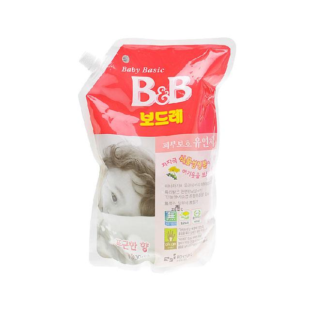 保宁(B&B) 纤维柔顺剂(柔和香·盖子袋装) 1300ml