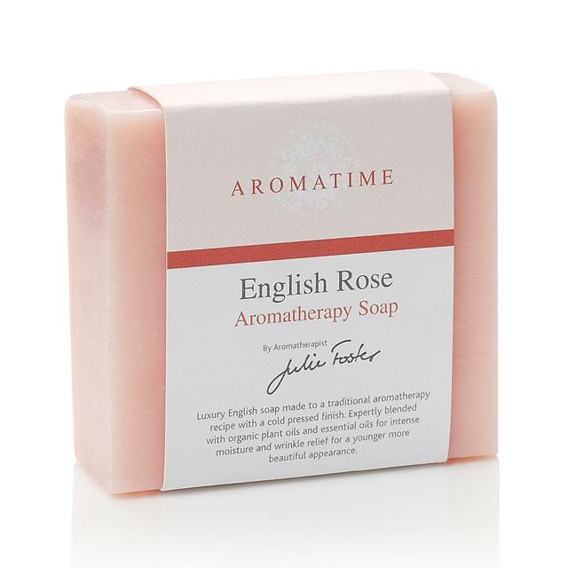 芳香假日(Aromatime) 英格兰玫瑰皂(美白保湿补水 洁面滋润祛斑)