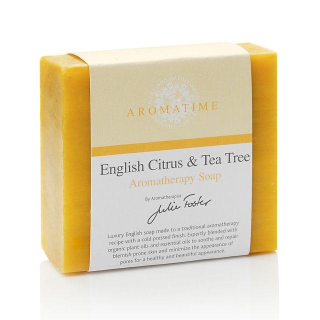 芳香假日(Aromatime) 英格兰柑橘茶树皂(控油补水 祛粉刺 抗菌消炎)