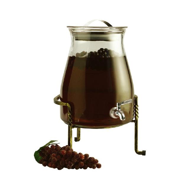 居元素(SENSE) 玛莎 玻璃储酿器/酿酒器/酿酒罐 N9327021 4700ml(用友实体店自提)