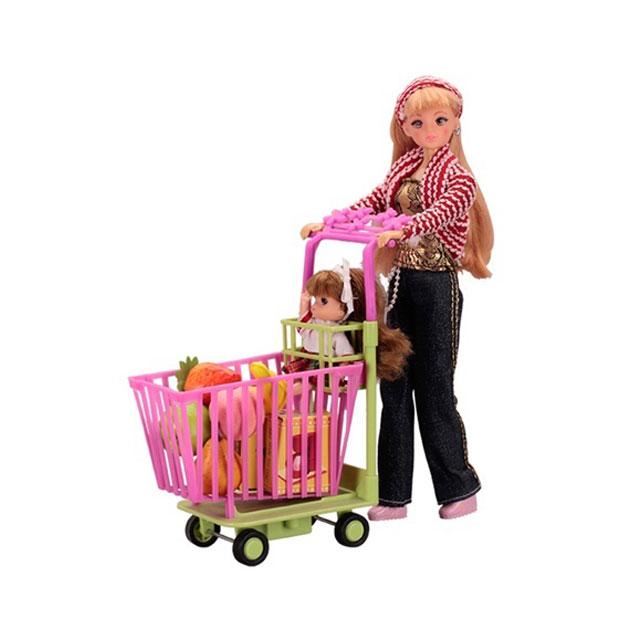 乐吉儿(Lelia) 梦幻超市芭比娃娃女孩玩具套装礼盒 L0307