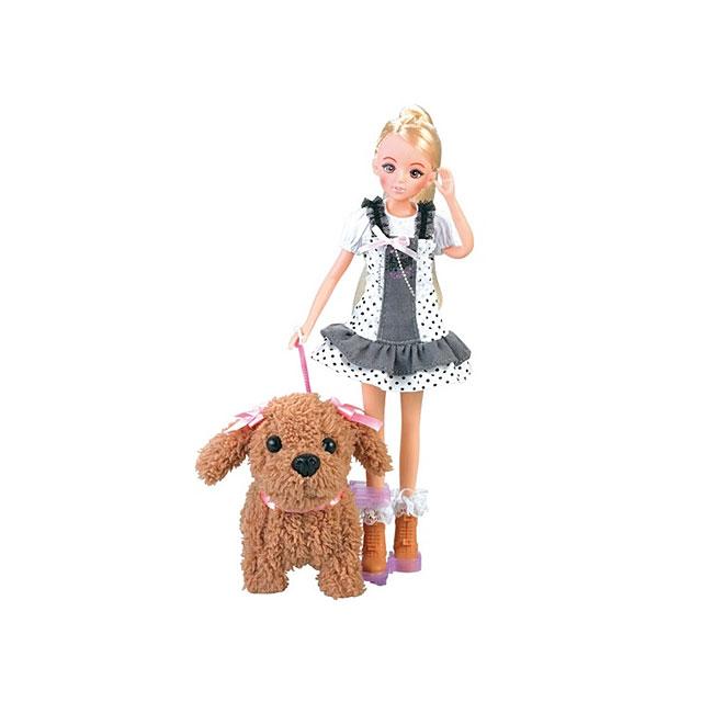 乐吉儿(Lelia) 梦幻宠物女孩甜心芭比娃娃女孩玩具礼盒 H27B