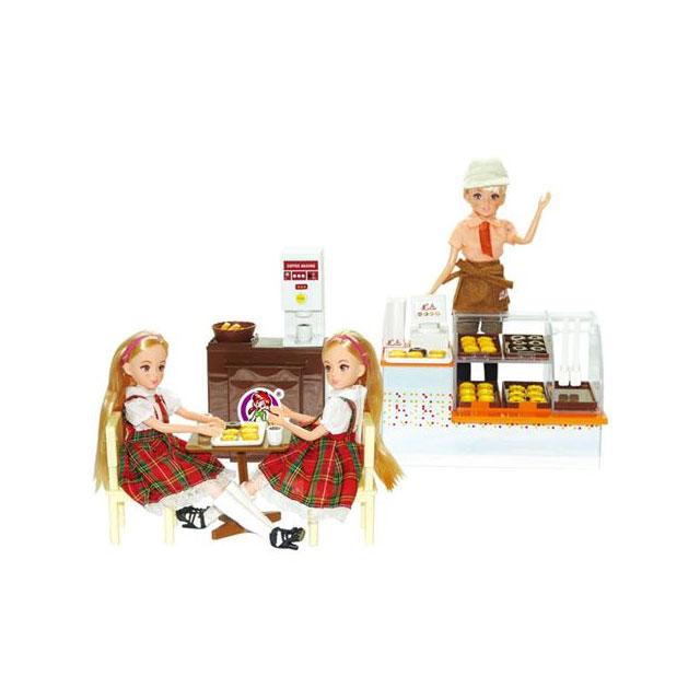 乐吉儿(Lelia) 梦幻面包屋芭比娃娃女孩玩具套装礼盒 H31A