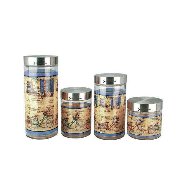 居元素(SENSE) 自行车 储物罐4件套 N9446380