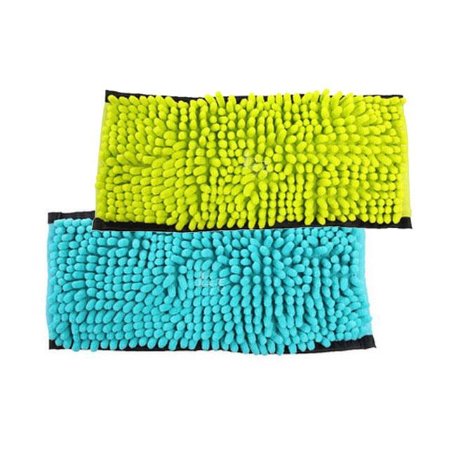 康多多(Condor) 舒舒(SUSU)地板擦用细纤维拖地巾 湖蓝/荧光绿(用友实体店自提)