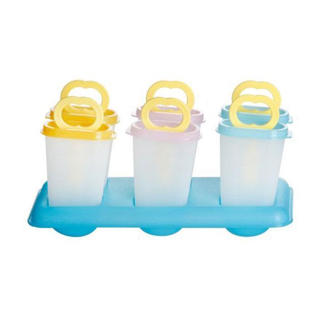 特百惠(Tupperware) 趣致夏日酷乐冰棒模 6件套
