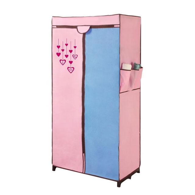 溢彩年华 时尚撞色衣柜 BPR1309 粉蓝