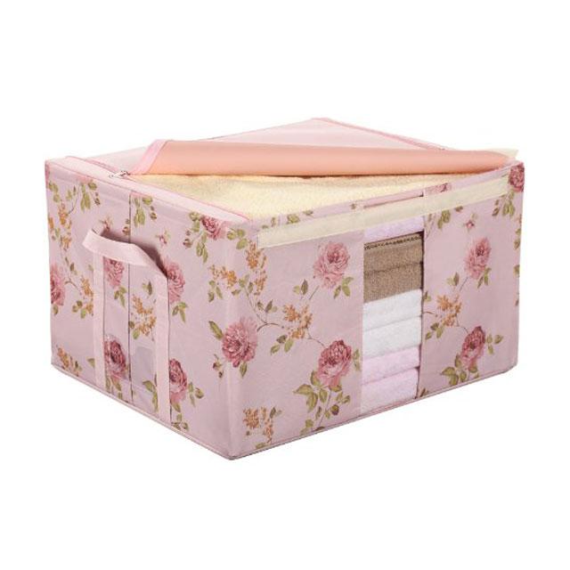 溢彩年华 外贸印花百纳箱 DKG-132/DKG-133 粉色