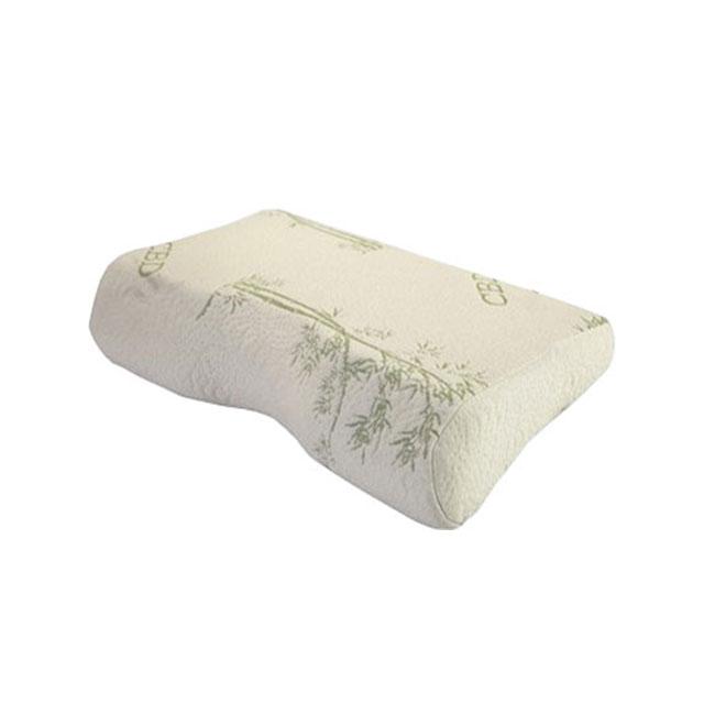 囡囡家纺 竹纤维记忆枕 55×36×(6~11)cm