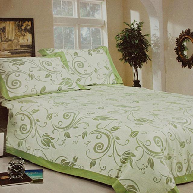 韩国 爱茉莉 竹纤维清凉三件套 亚麻三件套 褥单 枕套x2