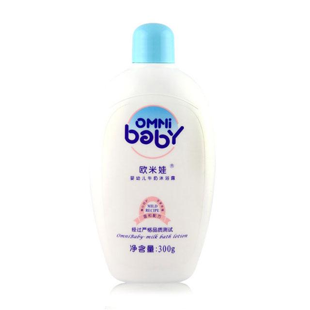 欧米娃(OMNi baby) 婴幼儿牛奶沐浴露 300g